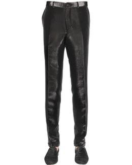 17.5cm Side Band Lurex Pants