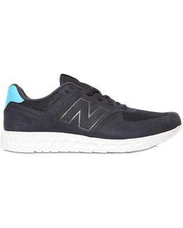 574 Fresh Foam Faux Nubuck Sneakers