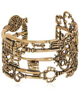 Barbablù Key Cuff Bracelet