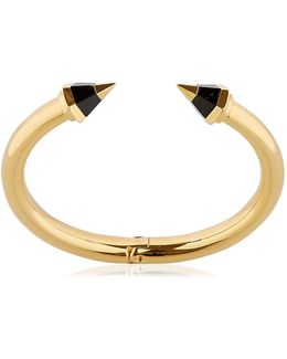 Titan Hex Tri-color Stone Bracelet