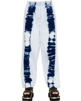 Tie Dye Printed Cotton Jeans