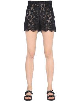 Heavy Cotton Lace Shorts