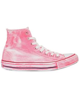 Chuck Taylor Washed High Top Sneakers