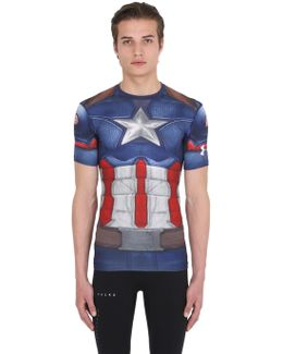 Captain America Compression T-shirt