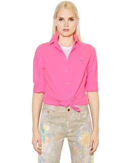 Harper Washed Cotton Oxford Shirt