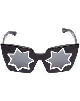 Star Acetate Squared Sunglasses