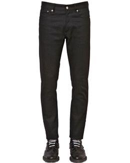 18cm Slim Fit Cotton Denim Jeans