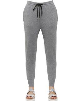 Cotton Blend Jogging Pants