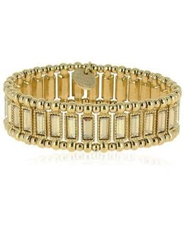 Titia Light Gold Stretch Bracelet