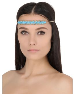 Ladies Embellished Self Tie Headband