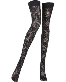 Sophia Lace Thigh High Stockings