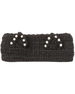 Kat Embellished Wool Headband