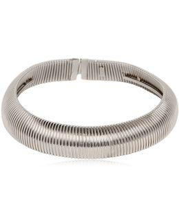 Serpent Oversize Brass Necklace
