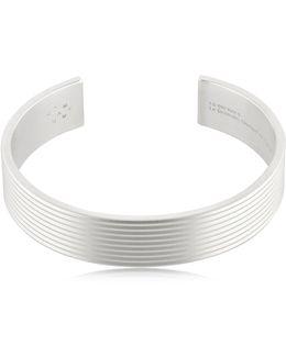 Le 41 Matte Guilloche Lines Bracelet