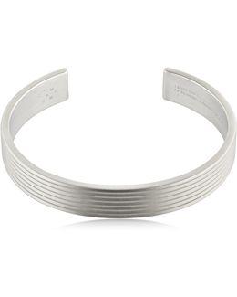 Le 33 Matte Guilloche Lines Bracelet