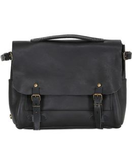 Eclair Handmade Leather Business Bag