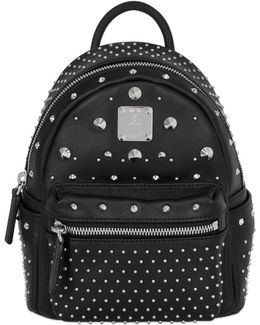 Mini Stark Leather Backpack