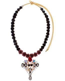 Karl God Cross Necklace