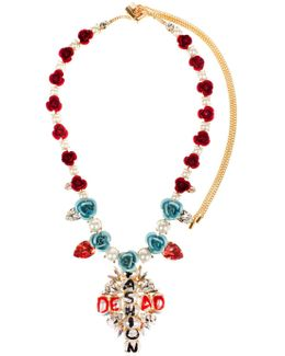 The Fashion Is Dead Necklace