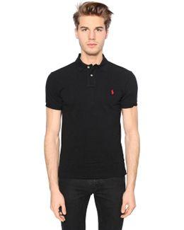 Slim Fit Cotton Piqué Polo Shirt