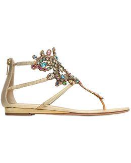 10mm Karung & Swarovski Sandals