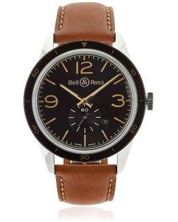 Br 123 Steel Golden Heritage Watch