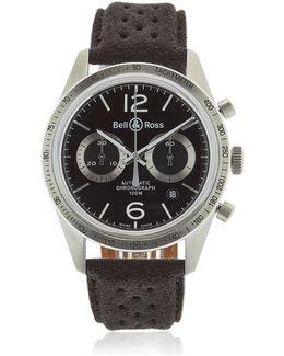 Br 126 Gt Chrono Steel Watch