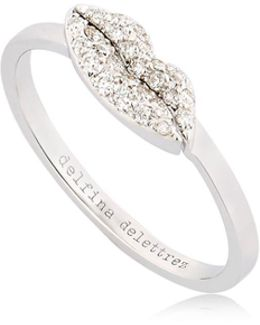 Kiss Me Diamond Ring