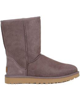 Classic Short Shearling Boots
