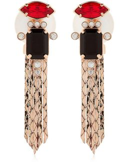 Deco Lux Fringed Earrings