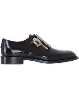 20mm Brushed Leather Shoes