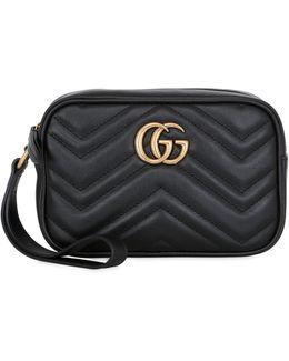 GG Marmont 2.0 Leather Shoulder Bag
