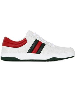 Ronnie Hammered Leather Sneakers
