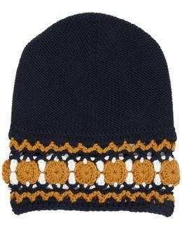 Wool Knit Beanie Hat