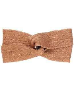 Knotted Lurex Headband