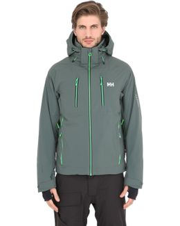 Alpha 2.0 Nylon Stretch Ski Jacket