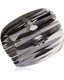 Fishbone Bangle Bracelet