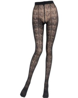Crocheted Effect Tights