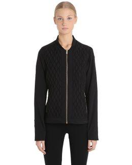 Milan J Nylon Stretch Ski Jacket