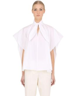 Cotton Poplin Short Sleeve Shirt