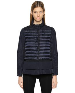 Cereste Quilted Nylon Down Jacket