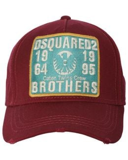Brothers Patch Canvas Baseball Cap
