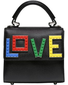 Micro Alex Rainbow Love Top Handle Bag