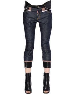 Skinny Stretch Cotton Denim Jeans
