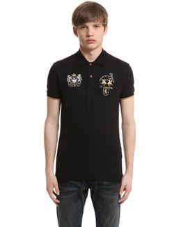 Austen Stretch Cotton Piquet Polo Shirt