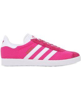Gazelle Mesh Sneakers