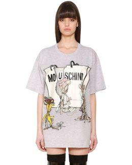 Rataporter Print Oversize Fit Cotton T-shirt