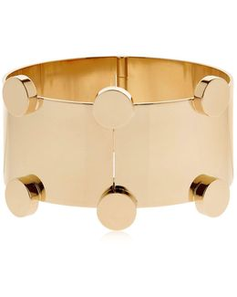 Manchette Gold Plated Bracelet