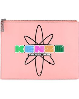 Essential Atomic Leather Pouch