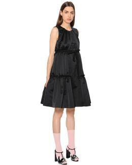 Ruffled Duchesse Dress